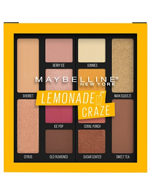 Paleta de Sombras Lemonade Craze Maybelline