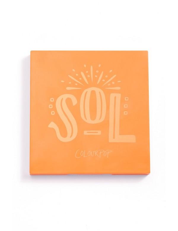 Paleta de Sombras SOL