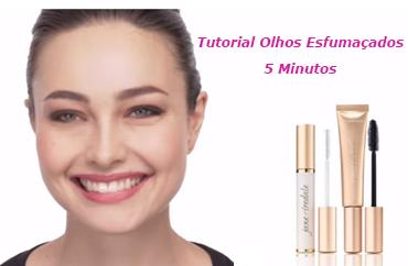 Tutorial de Maquiagem -  Faça Olhos Esfumaçados em 5 minutos
